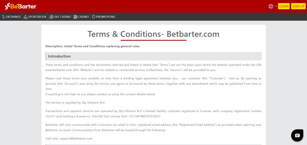 Betbarter Review