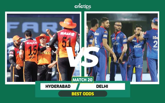 IPL Hyderabad vs Delhi