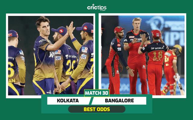Kolkata vs Bangalore