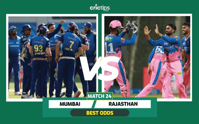 IPL Mumbai vs Rajasthan